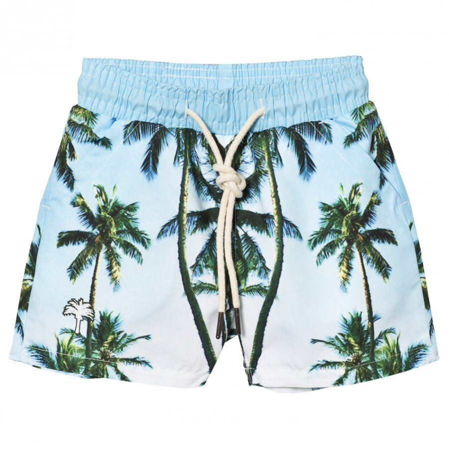 Oas Kid's Palm Tree Swim Shorts Uimahousut