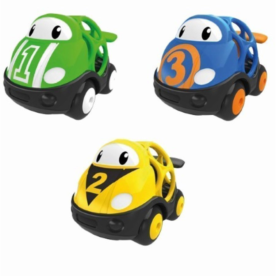 Oball Go Grippers Race Car Set 3 Kpl
