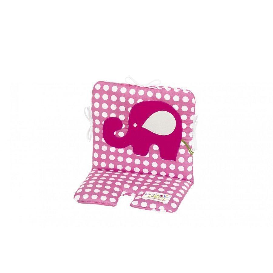 Odenwälder Istuinpäällinen Syöttötuoliin Ja Keinuun Funny Fant Dots Pink
