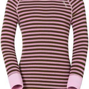 Odlo Kids Warm Shirt Kerrastopaita Pinkki / Vihreä