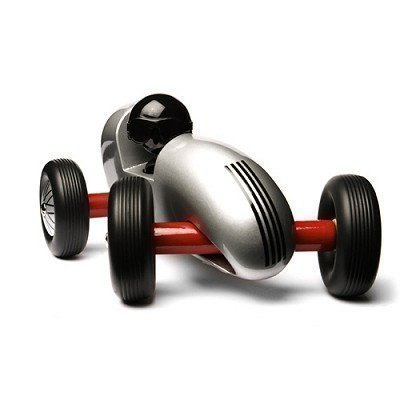 Oldtimer puinen kilpa-auto Playsam