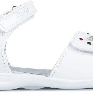 One Step Sandaalit Nahkaa Valkoinen