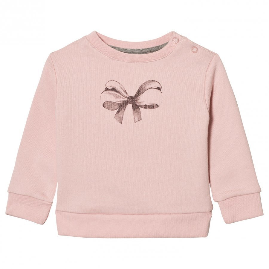 One We Like Baby Basic Bow Sweatshirt Lotus Oloasun Paita