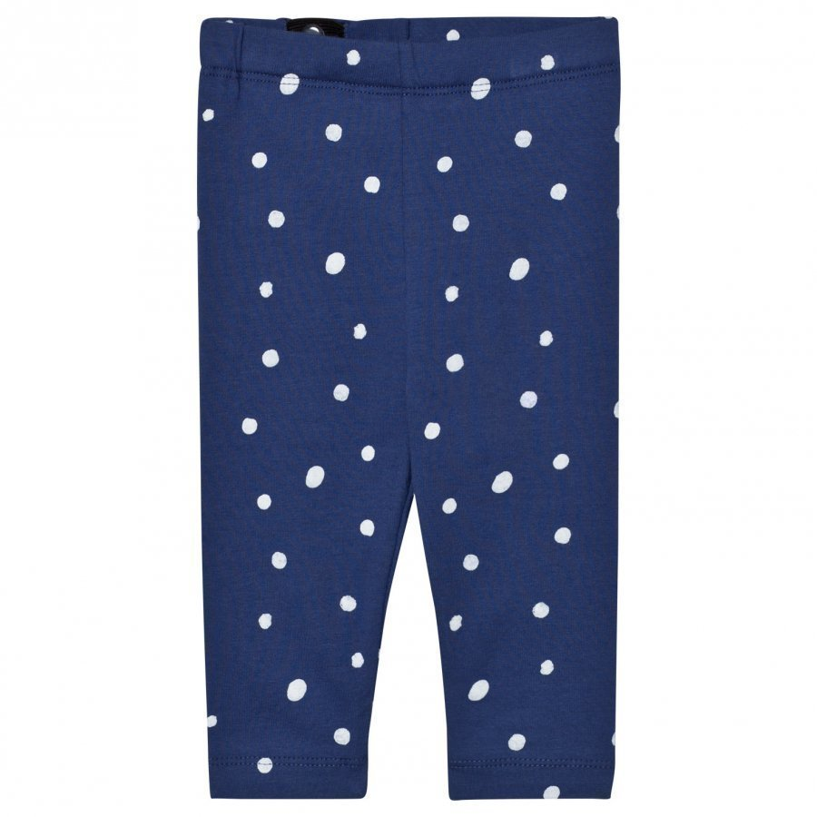 One We Like Dots Baby Leggings Twilight Blue Legginsit