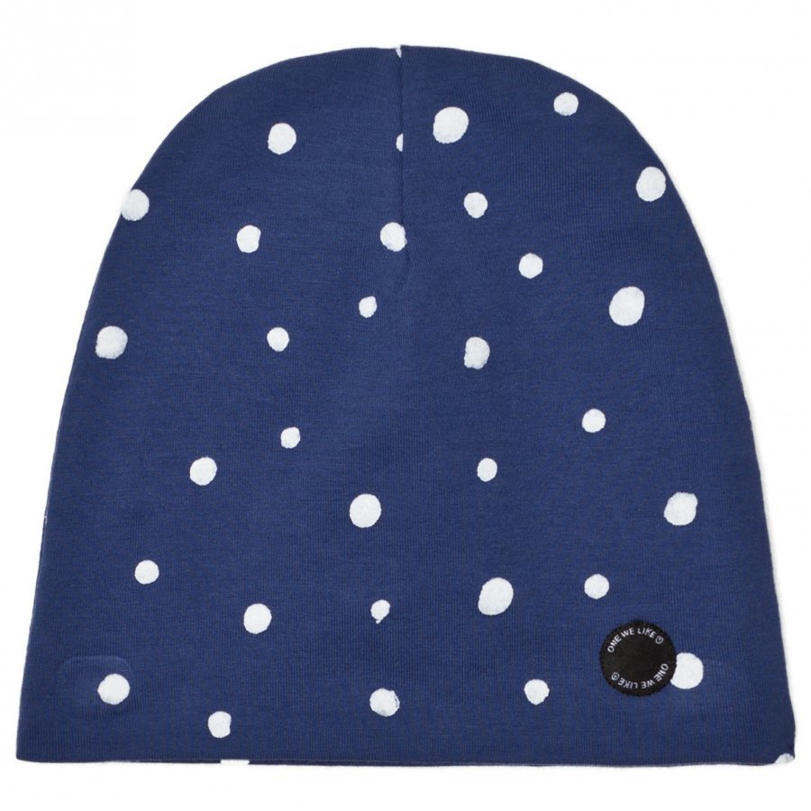 One We Like Dots Hat Blue Pipo
