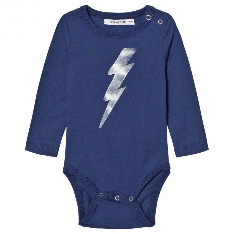 One We Like Flash Baby Body Twilight Blue Kokopuku