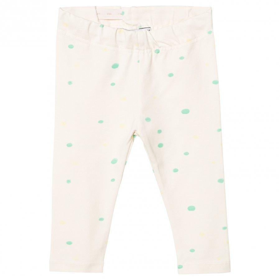 One We Like Leggings Dots Pristine White Legginsit