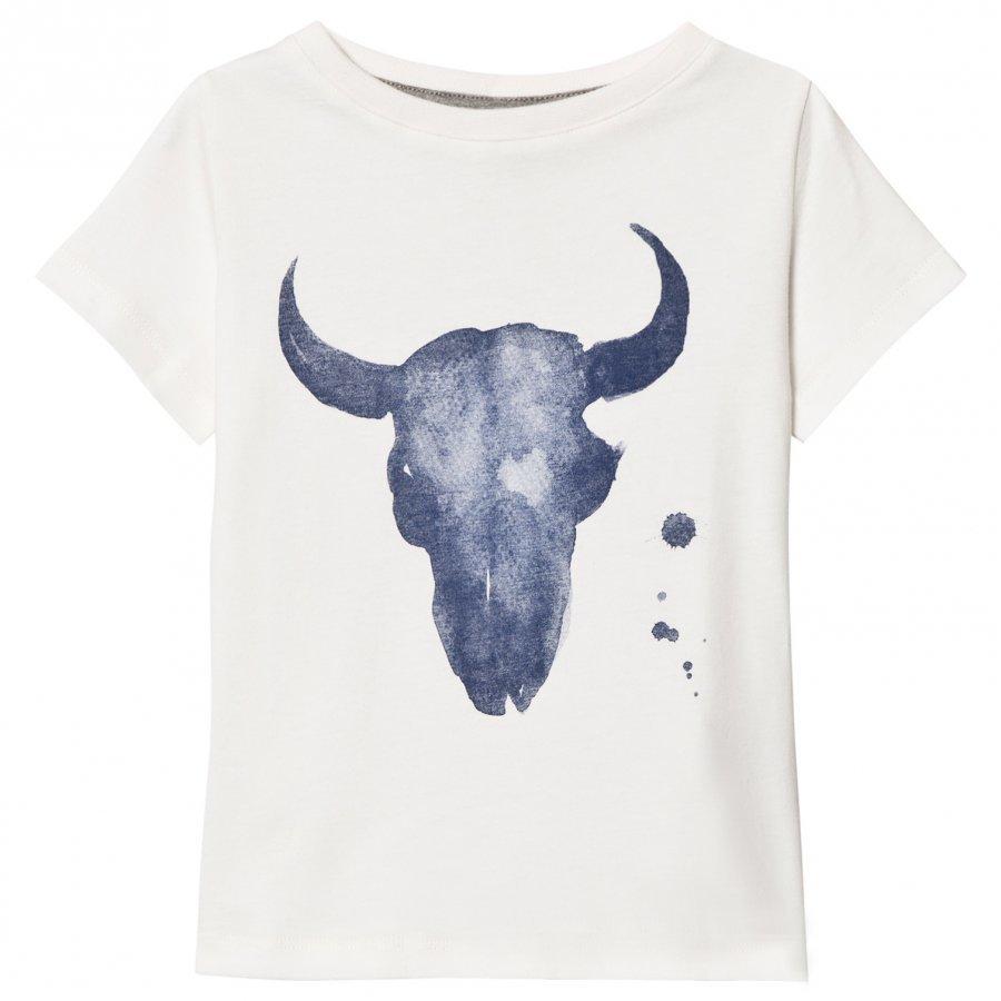 One We Like One Kranium Short Sleeve T-Shirt Pristine White T-Paita