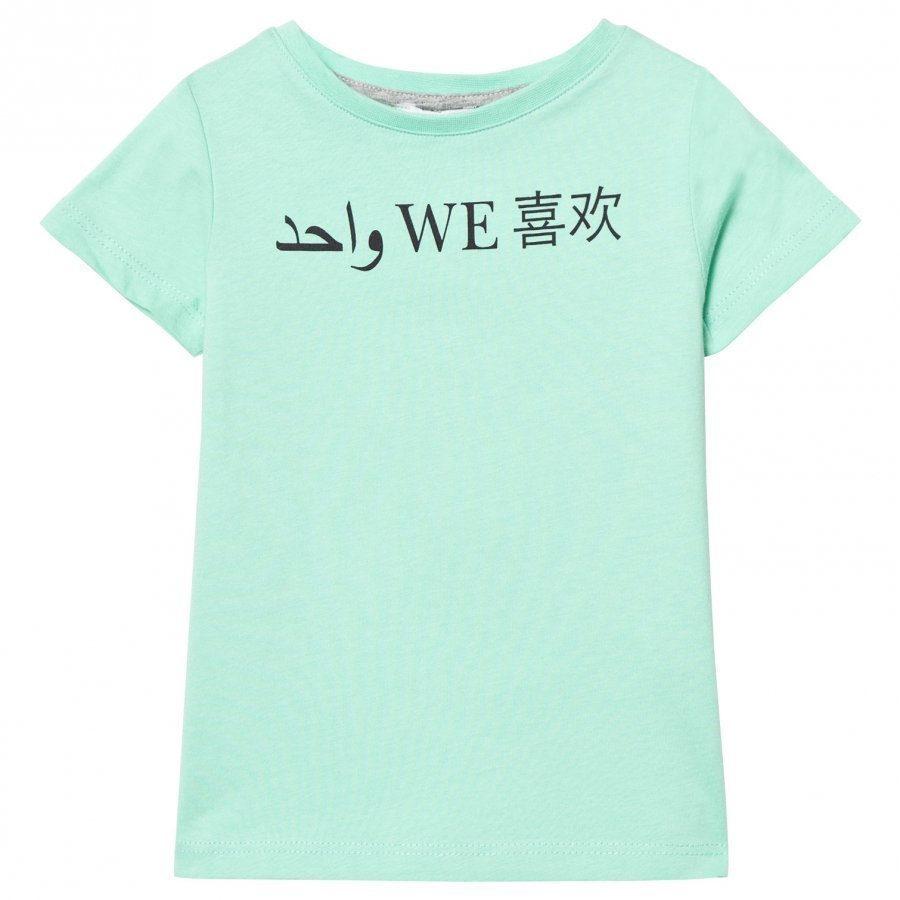 One We Like One T-Shirt One We Like Cabbage Green T-Paita