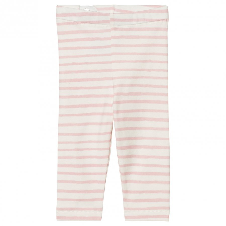One We Like Stripe Baby Leggings Pristine White Legginsit