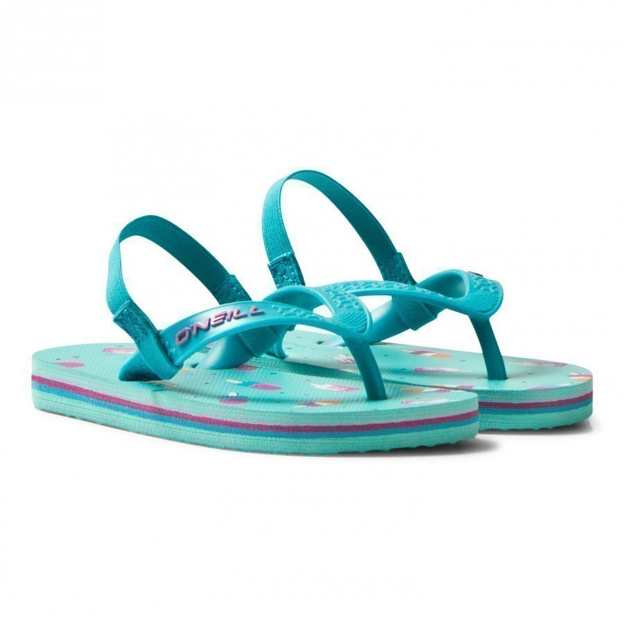 Oneill Green Infants Lollipop Print Moya Flip Flops Sandaalit
