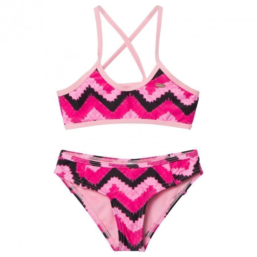 Oneill Pink Active Top Bikini Bikinit