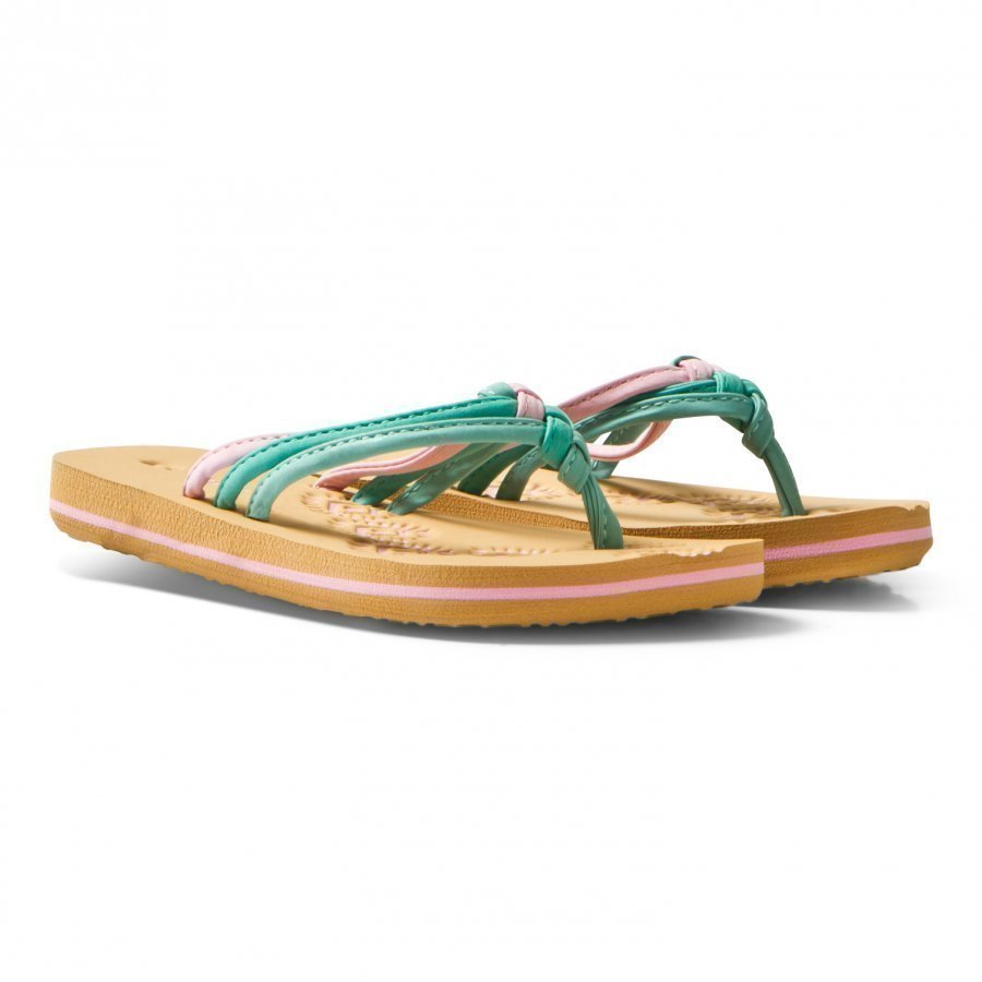 Oneill Pink Ditsy Flip Flops Sandaalit