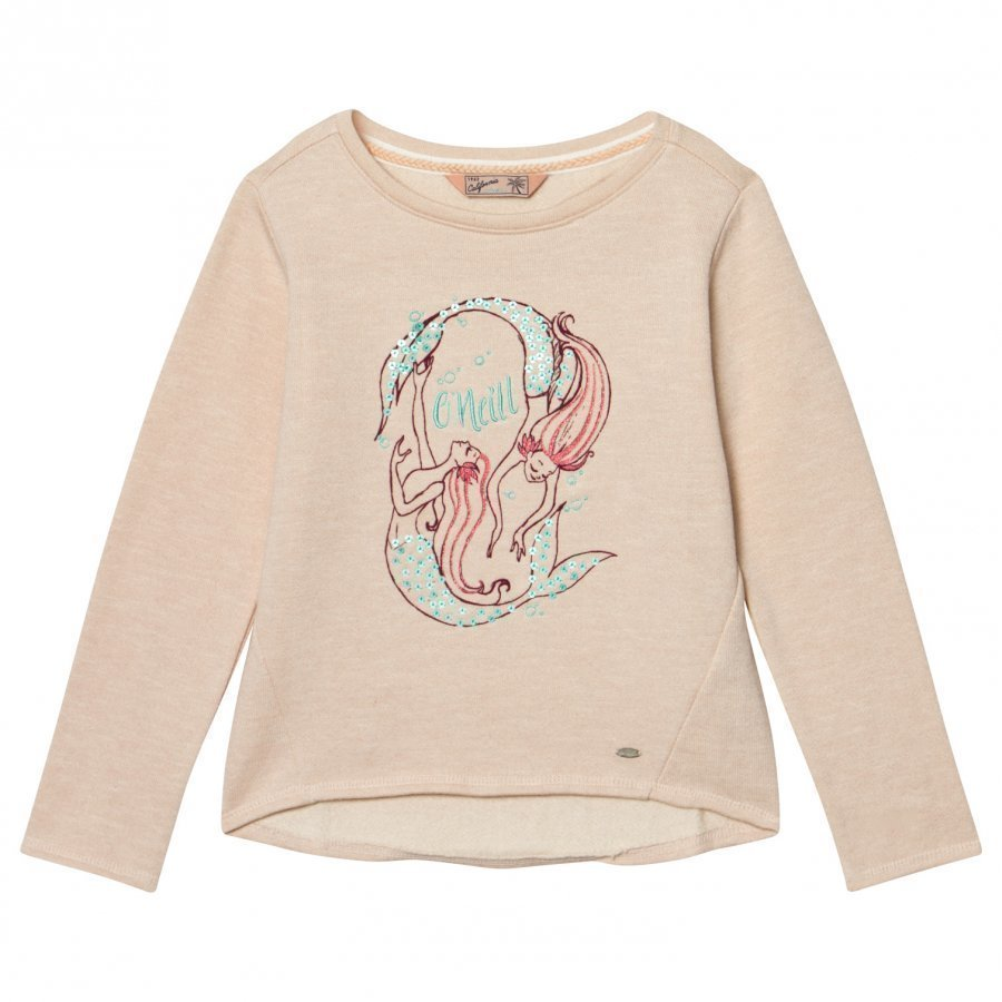 Oneill Pink Mermaid Bay Graphic Sweatshirt Oloasun Paita