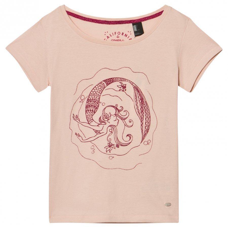 Oneill Pink Mermaid Bay Graphic Tee T-Paita