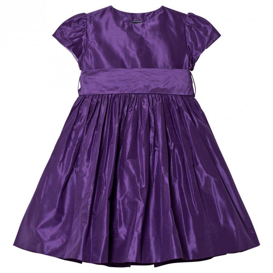 Oscar De La Renta Purple Dress Mekko