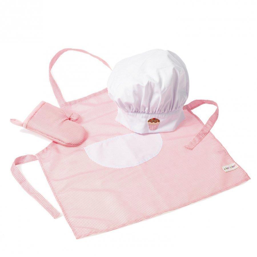 Oskar & Ellen Chef Set Pink Keittiötarvike