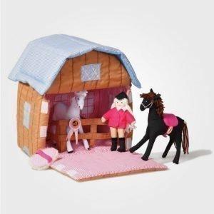 Oskar & Ellen Pony Stable Leikkisetti