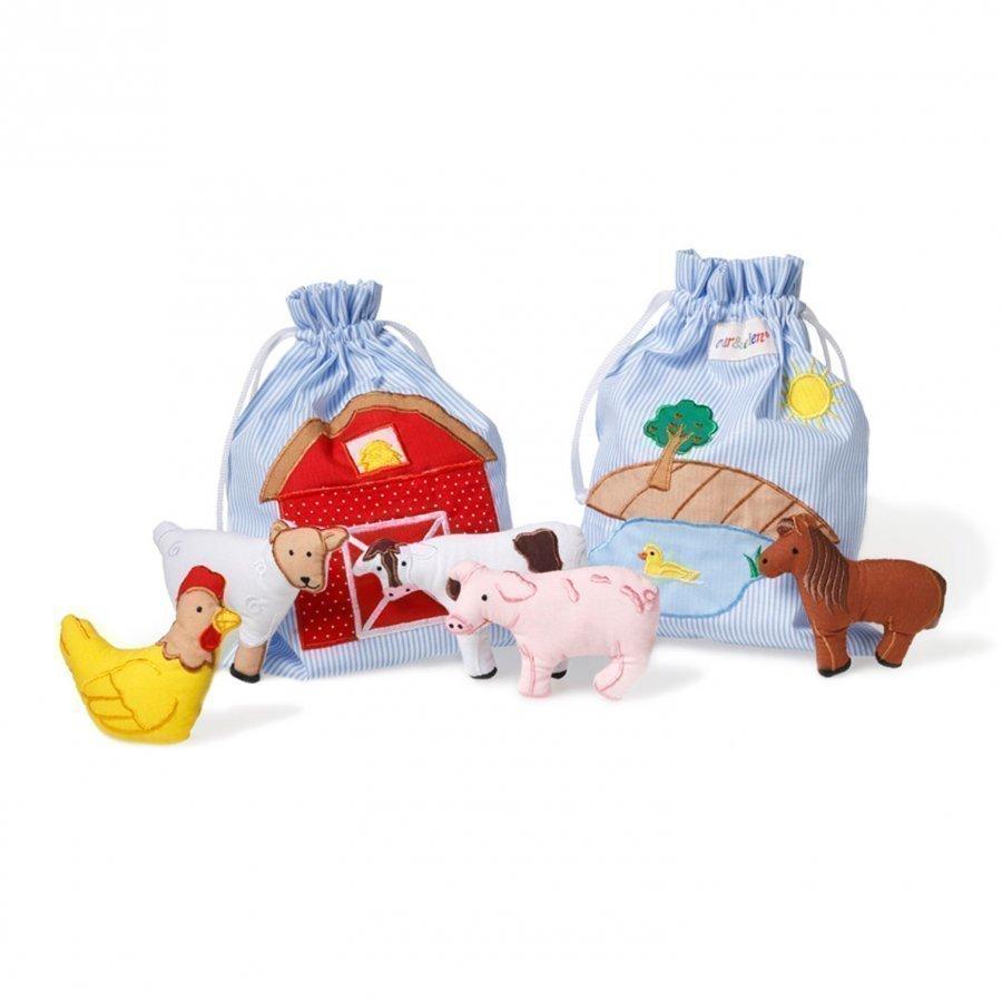 Oskar & Ellen Story Bag Farm Leikkisetti