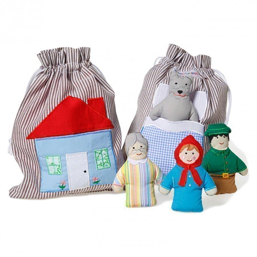 Oskar & Ellen Story Bag Little Red Hood Leikkisetti