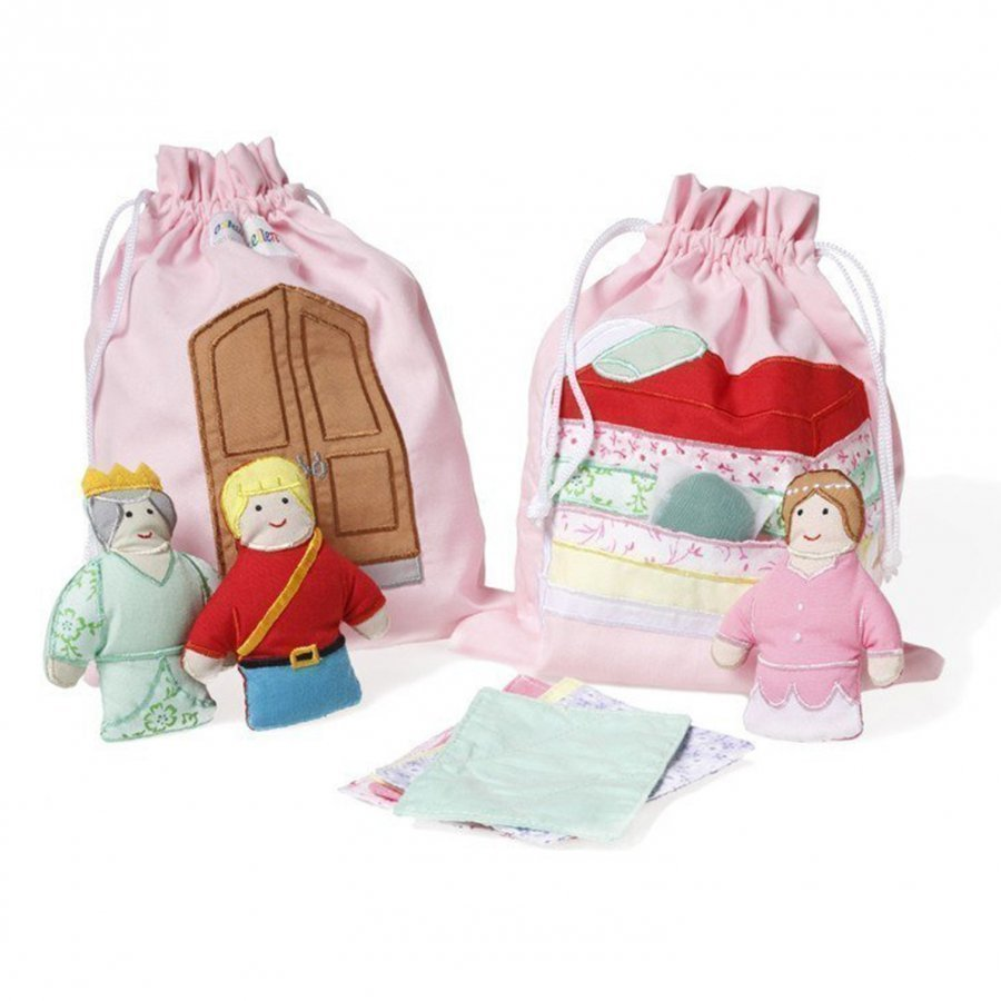 Oskar & Ellen Story Bag The Princess And The Pea Leikkisetti