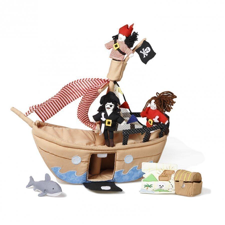 Oskar & Ellen The Jolly Roger Pirate Ship Leikkisetti