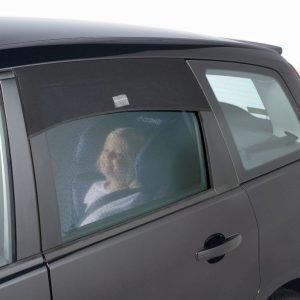 Outlook Aurinkosuoja autoon Auto-shade Neliskulmainen
