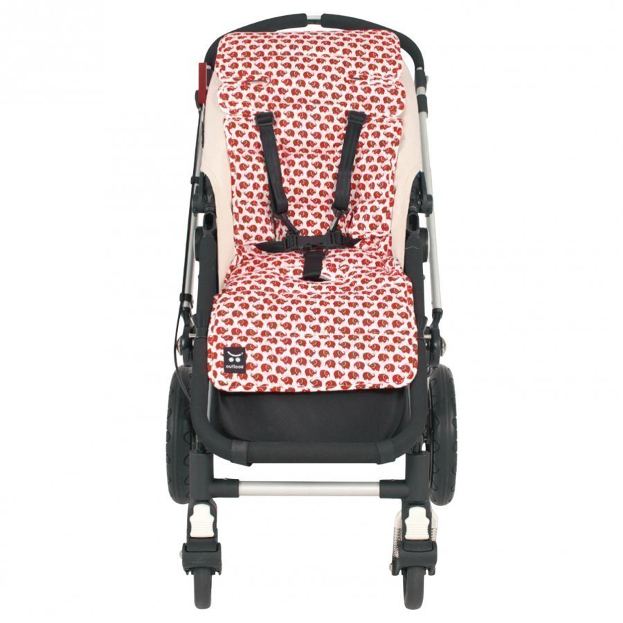 Outlook Seat Liner Cotton Elephant Red Istuintyyny