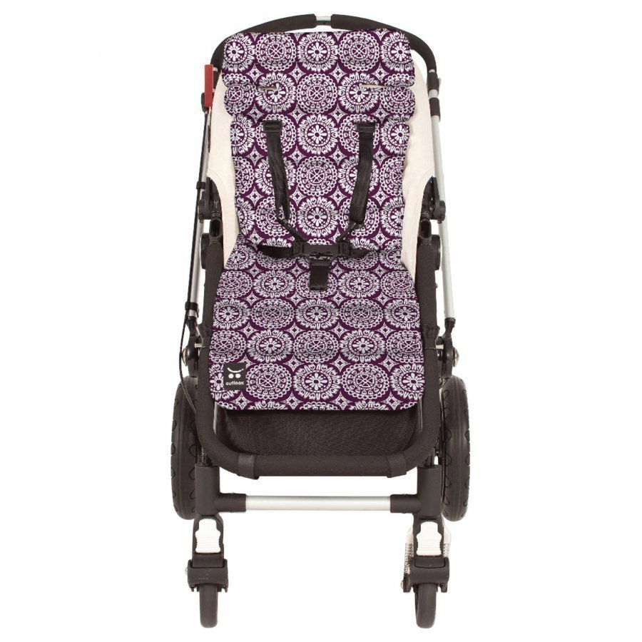 Outlook Seat Liner Cotton Mosaics Purple Istuintyyny