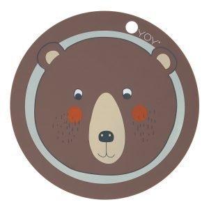 Oyoy Bear Pöytätabletti Ø39 Cm