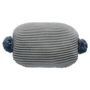 Oyoy Bonbon Tyyny Sininen / Valkoinen / Musta 35x45 Cm