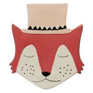 Oyoy Foxy Keraaminen Taulu 23x26 Cm