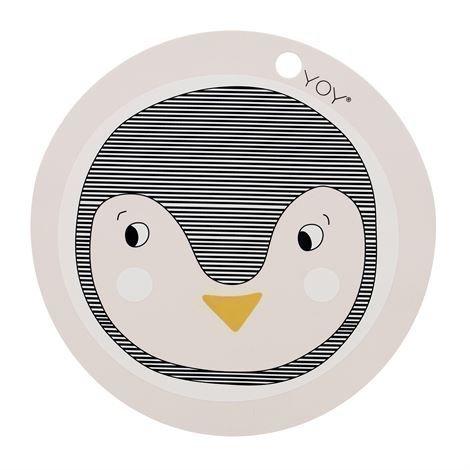 Oyoy Penguin Pöytätabletti Vaaleanpunainen