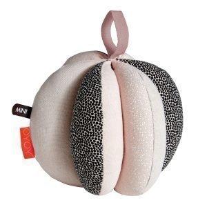 Oyoy Puzzle Baby Ball Pehmolelu Vaaleanpunainen Ø13 Cm