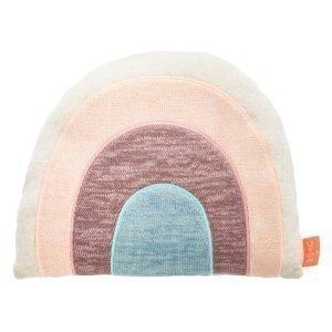 Oyoy Rainbow Tyyny Large Valkoinen / Ruskea / Sininen