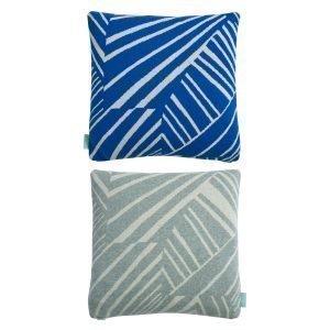 Oyoy Smilla Tyyny Harmaa / Dazzling Blue 40x40 Cm