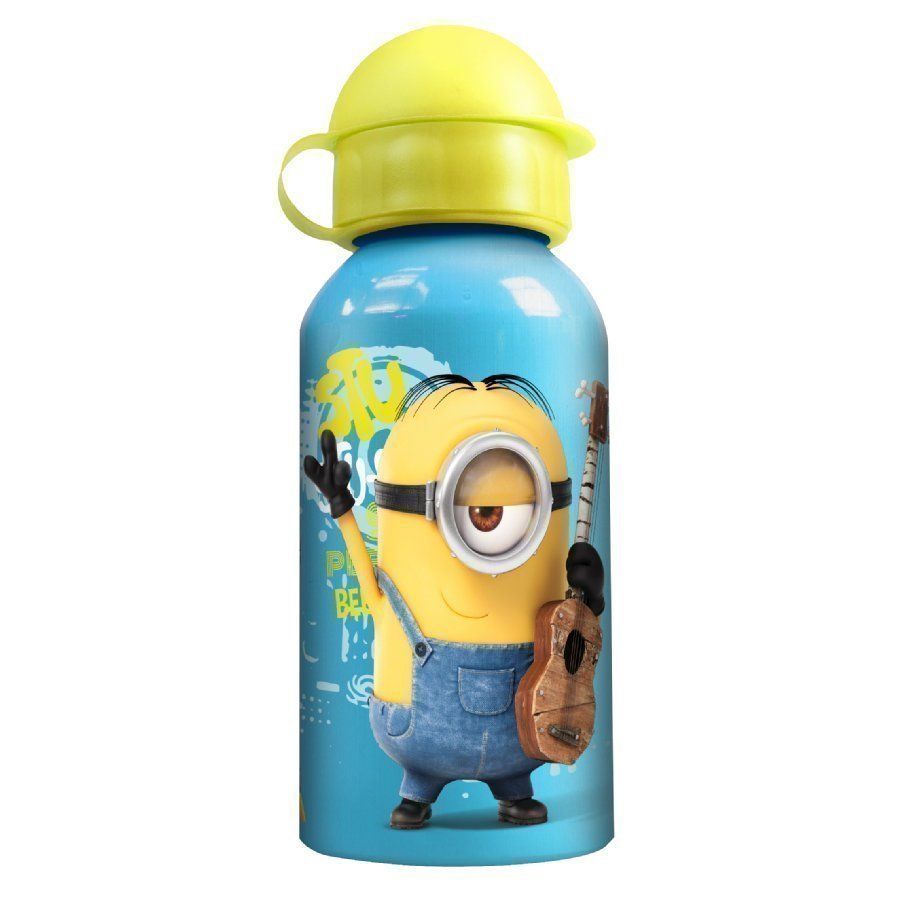 P:Os Alumiininen Juomapullo Minions Movie 400 Ml