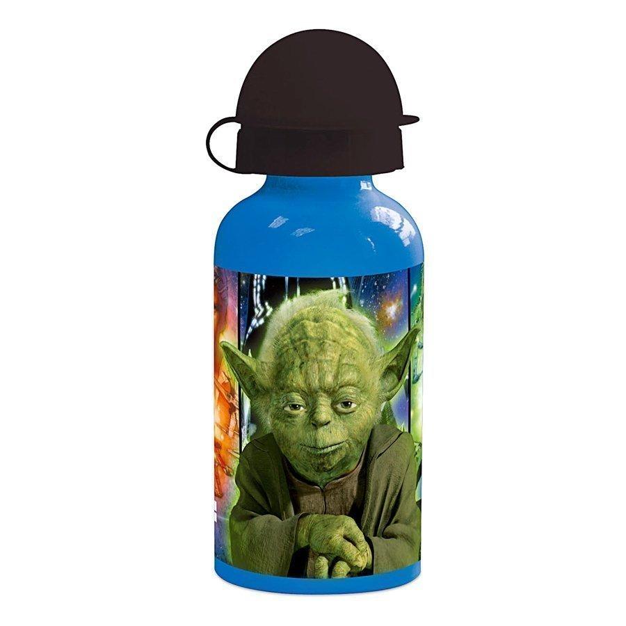 P:Os Alumiininen Juomapullo Star Wars Yoda 400 Ml