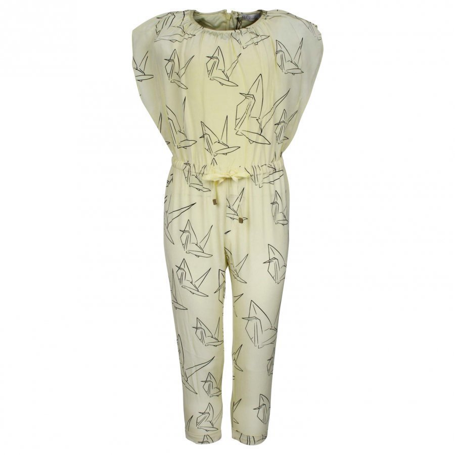Pale Cloud Drew Jumpsuit Yellow Potkupuku