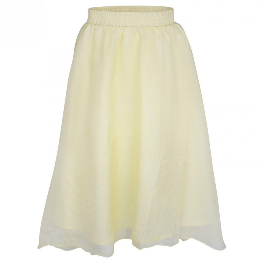 Pale Cloud Opal Skirt Yellow Midihame