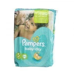 Pampers Baby-Dry 5 11-25 Kg Teippivaippa 44 Kpl