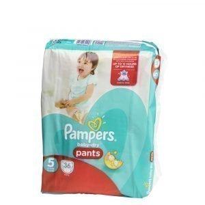 Pampers Baby-Dry 5 12-18 Kg Housuvaippa 36 Kpl