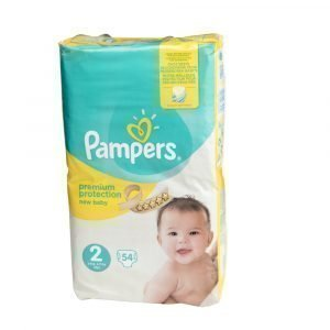 Pampers New Baby 2 3-6 Kg Teippivaippa 54 Kpl