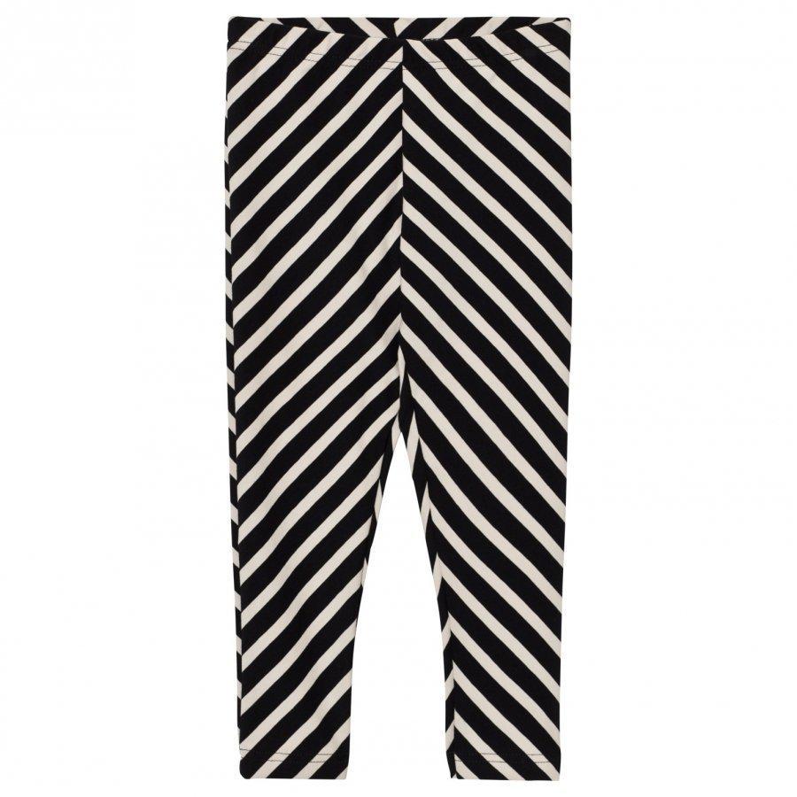 Papu Black Stripe Leggings Legginsit