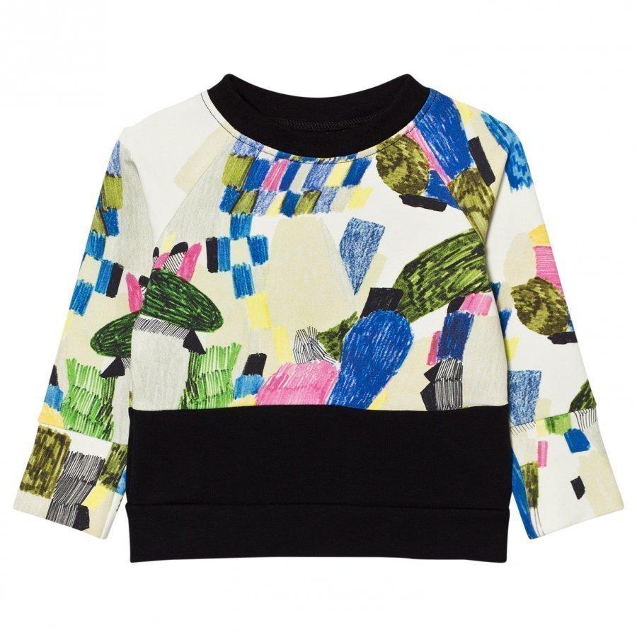 Papu Split Sweatshirt Random/Black Oloasun Paita