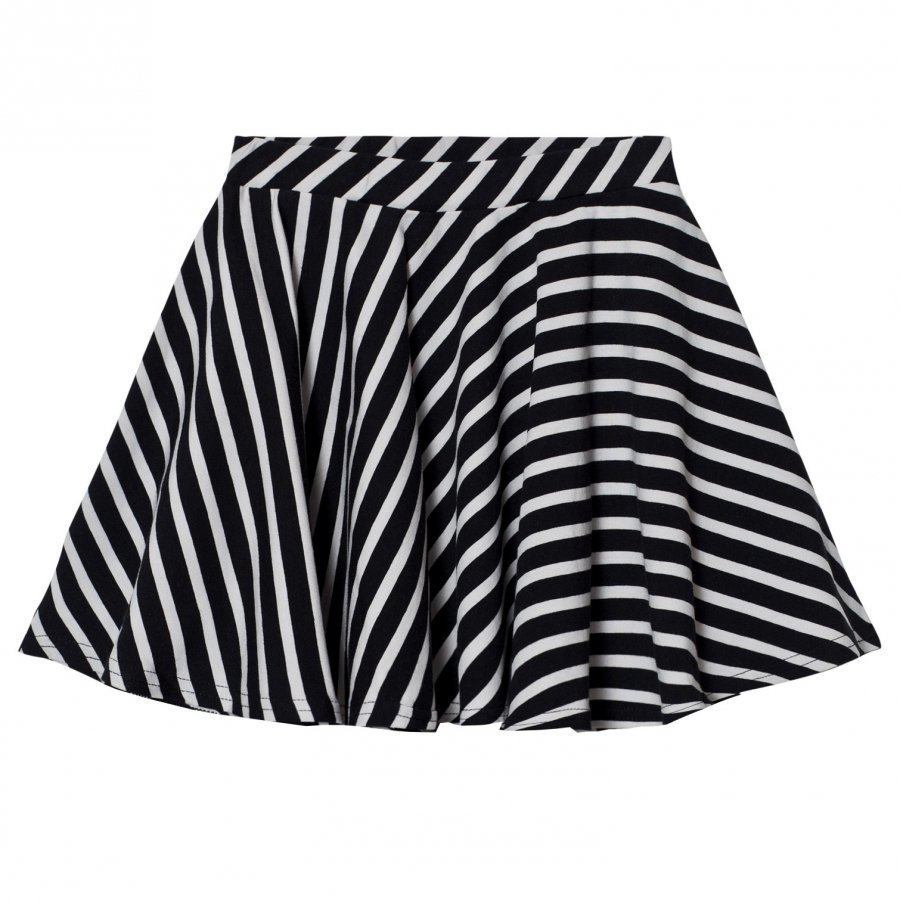 Papu Stripe Circle Skirt Lyhyt Hame