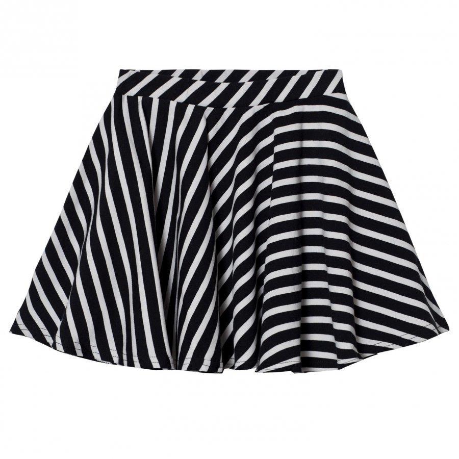 Papu Stripe Circle Skirt Lyhyt Hame