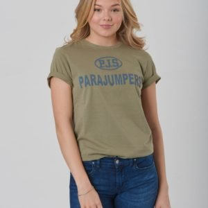 Parajumpers Jonny T Shirt T-Paita Vihreä