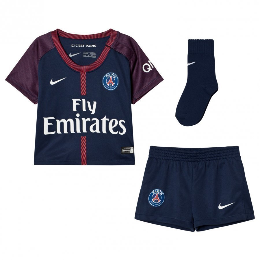 Paris Saint-Germain Fc Infants Home Soccer Uniform Jalkapalloasu