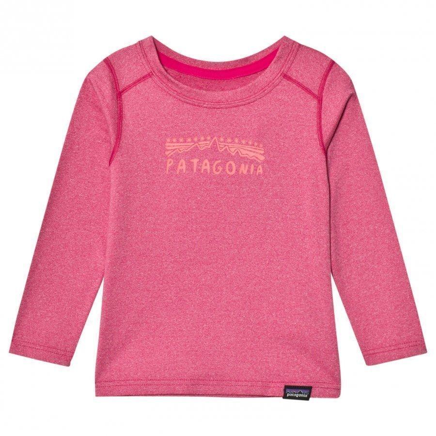 Patagonia Baby Cap Crew Craft Pink Kerraston Yläosa